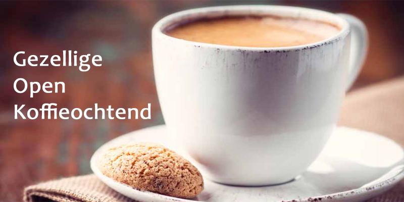 Welkom op gezellige Open Koffieochtend – donderdag 15 augustus