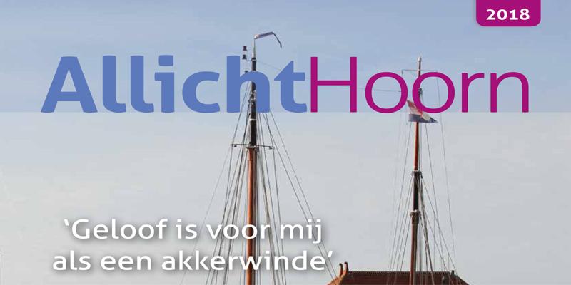 Op ieder adres in Hoorn een aansprekende kerstboodschap