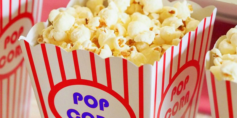 Popcorn-bakfestijn! zaterdag 11 mei